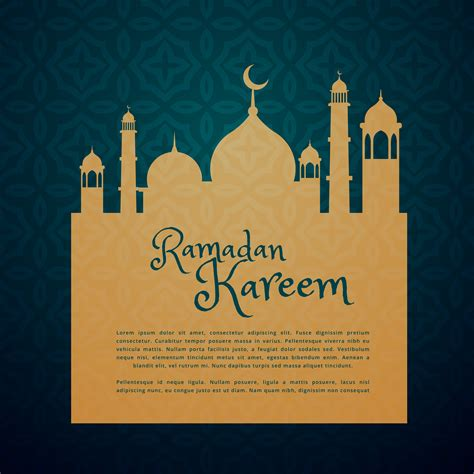 ramadan card templates islamic festival ramadan greeting card free