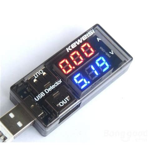 Usb Power Current And Voltage Tester usb detector power current and voltage tester black jakartanotebook