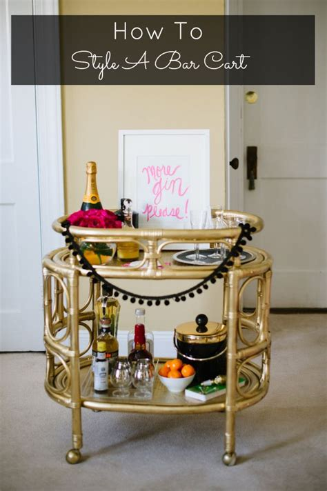 how to decorate a bar how to decorate a bar cart i decorate pinterest