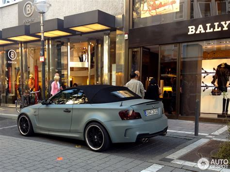 Bmw 1er Cabrio Bodykit by Real Look At How A 1m Convertible Would Look
