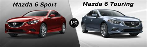 mazda 6 sport difference between the mazda 6 sport and mazda 6 touring