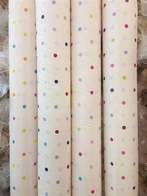 prestige curtain fabric lifestyle design multidot spots multi coloured kids room