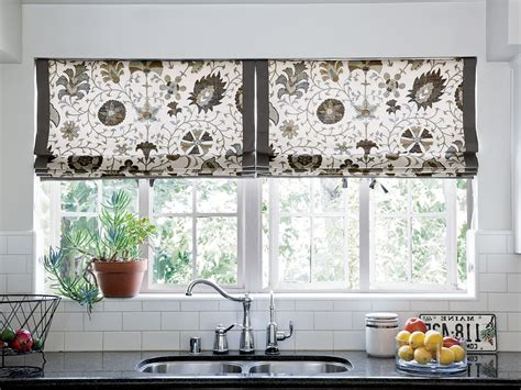 Contemporary Kitchen Curtains And Valances » Home Design 2017