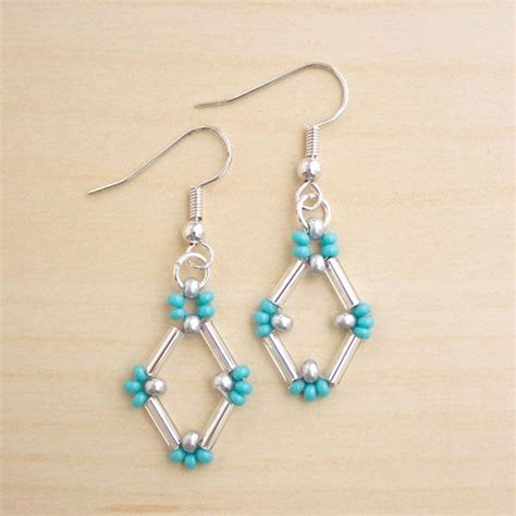 best 25 beaded earrings ideas on