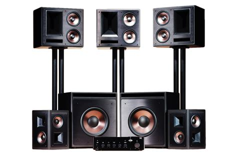 klipsch thx ultra2 5 2 speaker package digital cinema