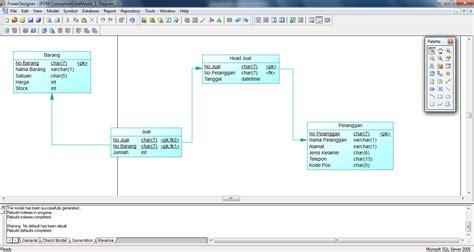 Membuat Erd Dengan Easycase | membuat erd di powerdesigner v15 1 cara belajar ilmu