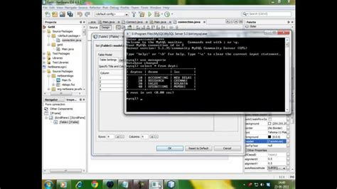 tutorial netbeans database java netbeans database connectivity youtube