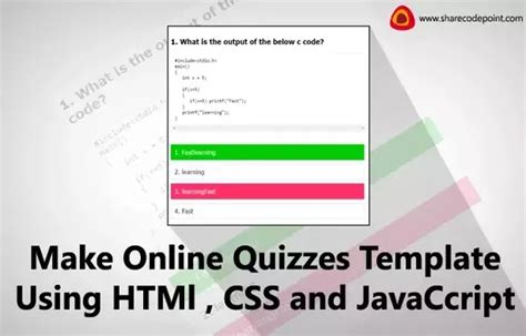 javascript quiz template sachin yadav designer quora
