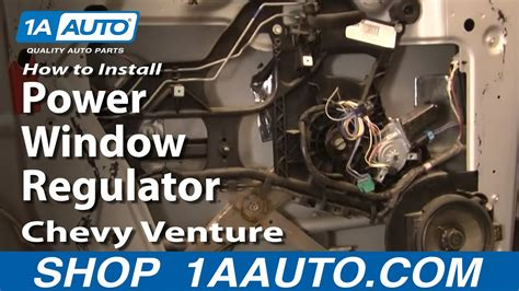 install replace power window regulator chevy