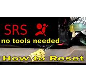 How To Reset SRS Airbag Light Turn Off The Srs  YouTube