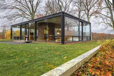 visitamos la glass house de philip johnson diariodesign