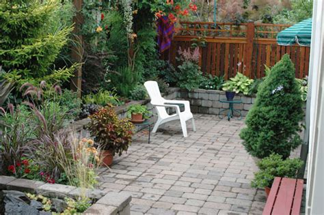 Creating Privacy In Small Backyard by Plantings