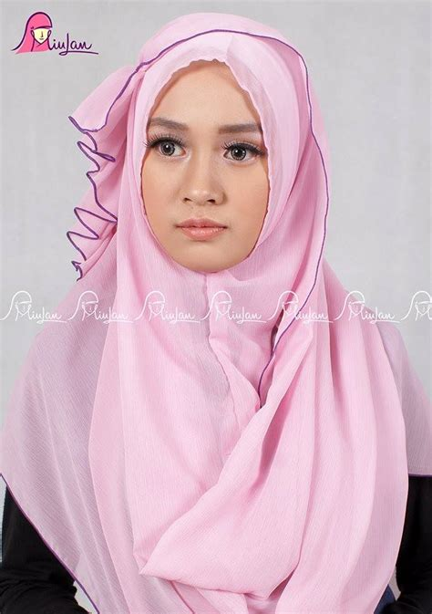 Pashmina Instant Kanya By Hdnet by Scarf Rosepastel Miulan Boutique