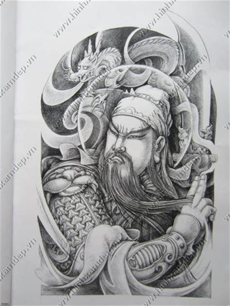 guan gong tattoo meaning quan cong tattoo clipart library
