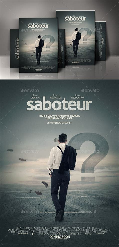 free templates for movie posters action movie poster template by silentgraphics graphicriver