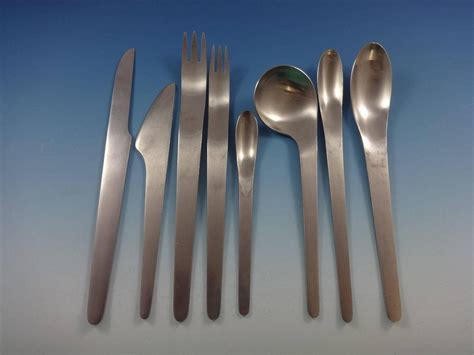 modern flatware arne jacobsen by michelsen stainless flatware set service