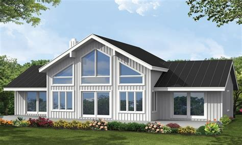 house plans with large windows big window house plans let light in 4 bedroom