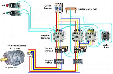 circuit diagram of delta starter with timer pdf