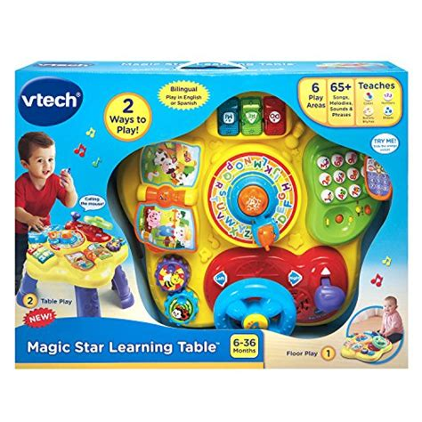 Vtech Magic Star Learning Table Buy Online In Uae Toy