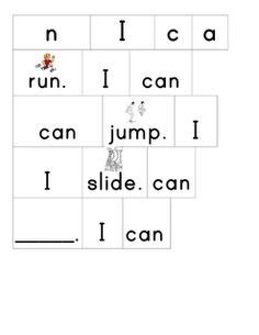 Cupboard Sentence Sight Words On Sight Word Practice Sight Word