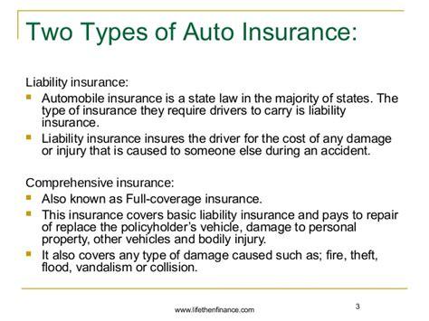 importance  auto insurance  renters insurance