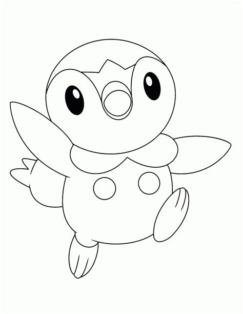 pokemon coloring pages of piplup pokemon coloring pages join your favorite pokemon on an