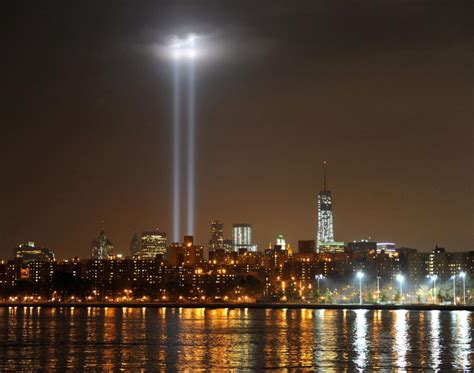 remembering 9 11 tribute in light marks 12th