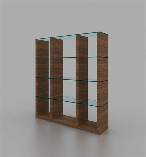High End Kitchen Cabinets Brands by Wall Unit In Walnut Finish With Glass Shelves Phoenix