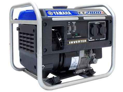 Yamaha Ef2800i Inverter Generator Yamaha Inverter