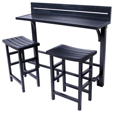 Indoor Bar Table Miyu Furniture 3 Balcony Bar Style Outdoor Pub And Bistro Sets By Miyu Sales