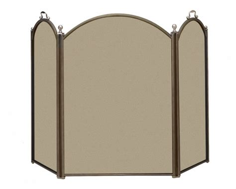 minuteman x800415 graphite and pewter fireplace screen