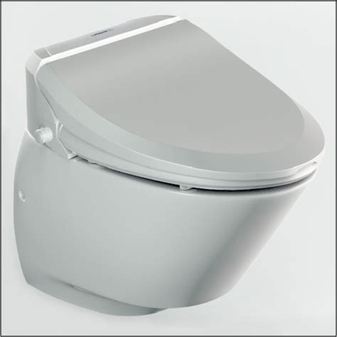 toilet bowl with bidet nic7000 a combined electronic bidet seat and wall hung toilet