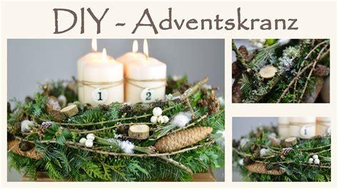 Adventskranz Diy by Diy Adventskranz Selber Machen Im Shabby Chic Stil I