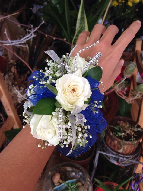 Hairstyles For 2017 Homecoming Bouquets by Indigo Transparent Ribbon With White Roses Baby S Breathe