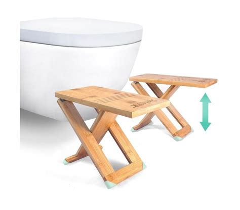 toilet squat stool nz relaxx toilet stool folding bamboo squat stools 7 quot 8