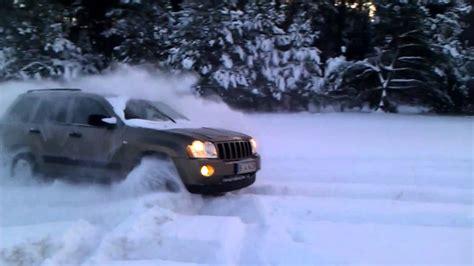 Jeep Grand In Snow Jeep Grand 3 0 Crd Snow