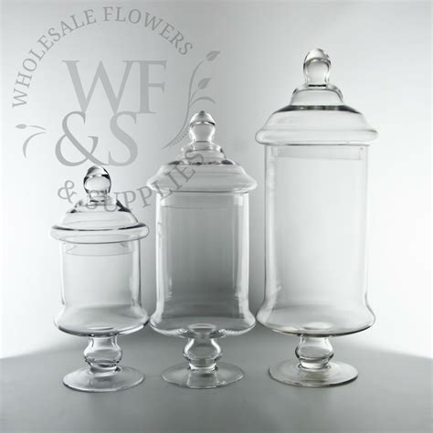 Jars And Vases by Glass Cylinder Jar Vases With Lids 12 Quot H Wholesale
