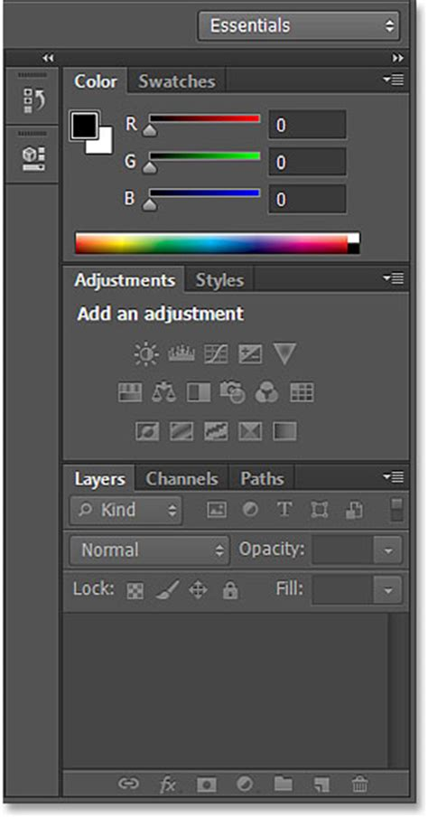 reset tool photoshop cs6 belajar photoshop menyimpan dan switching workspace dalam