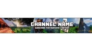 Minecraft Channel Template by Extremely Cheap Banner Template 163 1 Shops