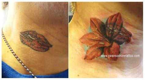 Lips Tattoo Cover Up | body tattoos designs lips tattoo cover up japanese