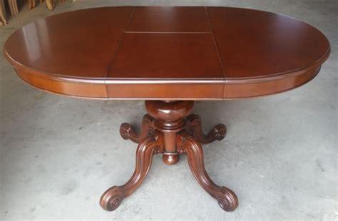 tavolo rotondo legno tavolo rotondo allungabile in legno di noce e faggio cm