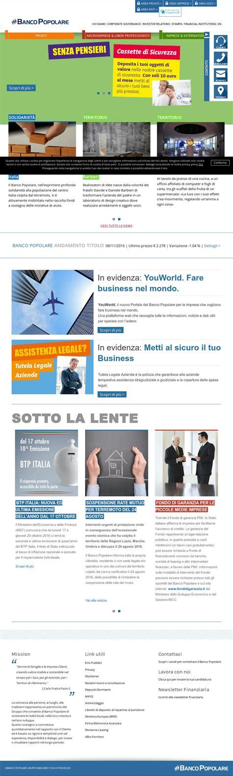 Banca Popolare News by Banco Popolare Company Profile Revenue Number Of