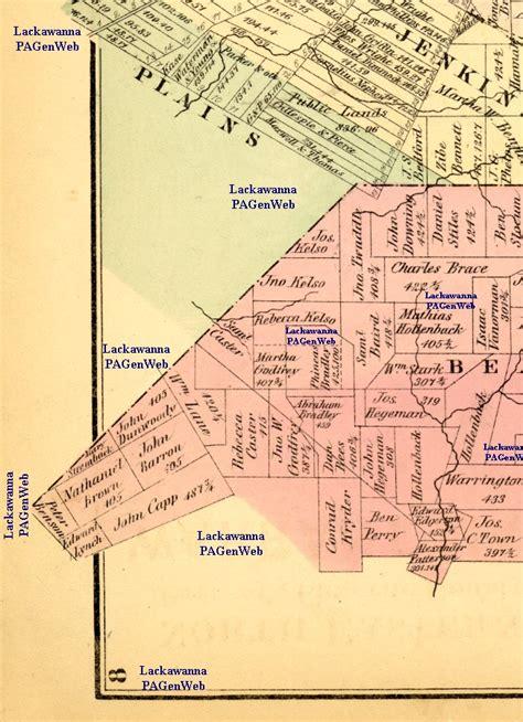 1873 Luzerne County Maps