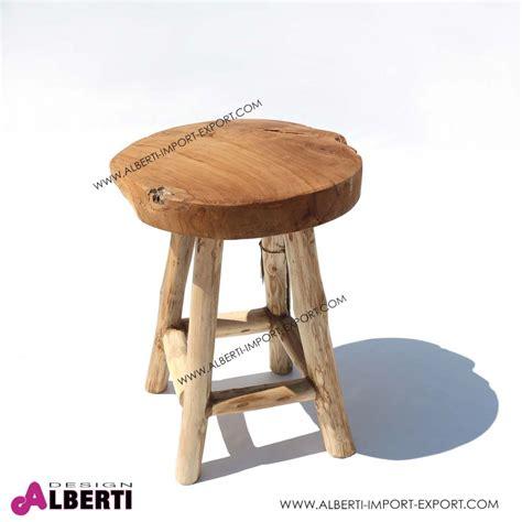 sgabello legno design sgabello legno naturale 42cm