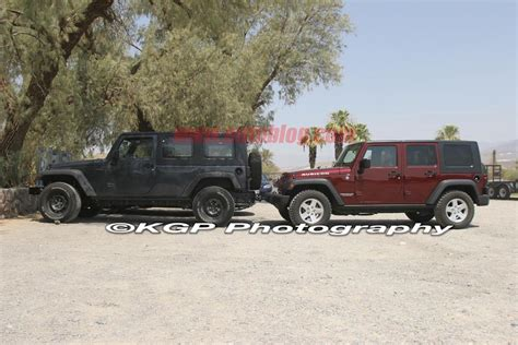jeep truck spy photos jeep jt pickup spy shots photo gallery autoblog