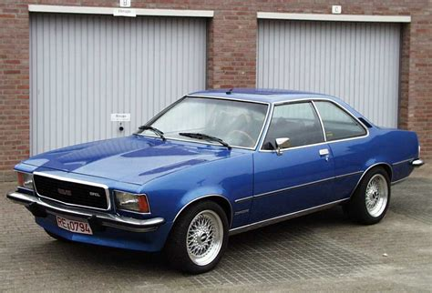 1972 opel commodore photos informations articles
