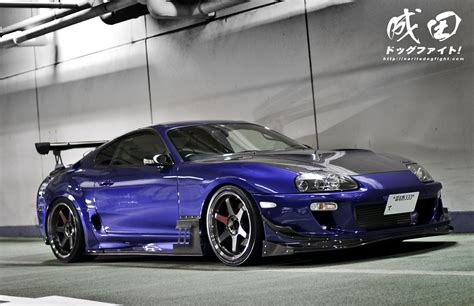 modified toyota mk4 supra stance car interior design