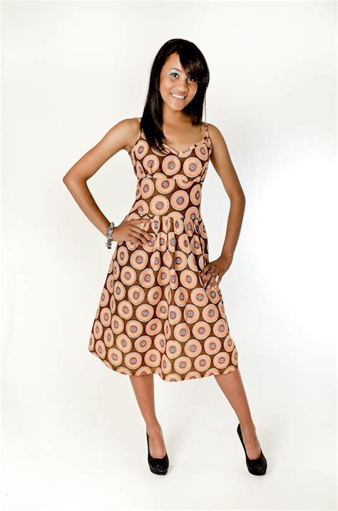 Best african print dress designs 2014 008 pictures to pin on pinterest