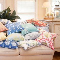 Coastal Home Pillows by 1000 Images About House Pillows On