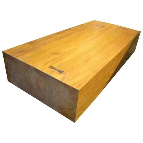 Modern Teak Wood Coffee Table For Sale At 1stdibs Coffee Table Teak Wood